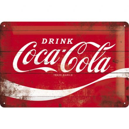 Coca Cola Red Sign- 3D  Metal Wall Sign